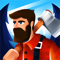 App Icon for Idle Lumberjack 3D App in Indonesia IOS App Store