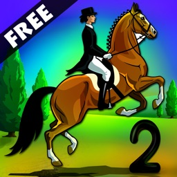 Horse Race Riding Agility Two : The Obstacle Dressage Jumping Contest Act 2 - Free Edition