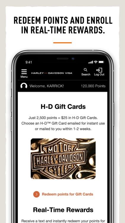 Harley-Davidson® Visa Card screenshot-6