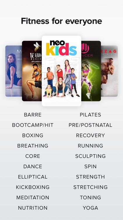 NEOU: Fitness & Exercise App screenshot-8