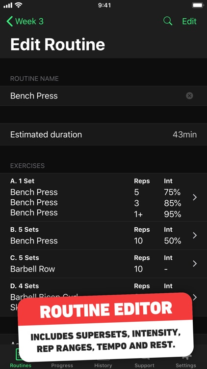HeavySet - Gym Log Workout screenshot-3