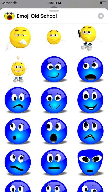 Emoji Old School screenshot-3