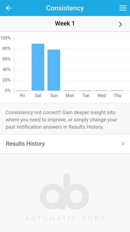 Automatic Body — Weight Loss screenshot-3