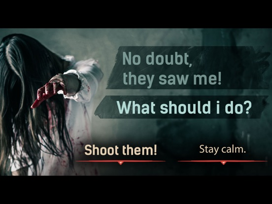 DEAD CITY Thrilling Chat Story Screenshots
