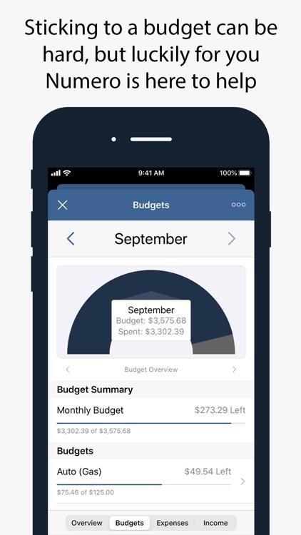 Numero: Personal Finance screenshot-4