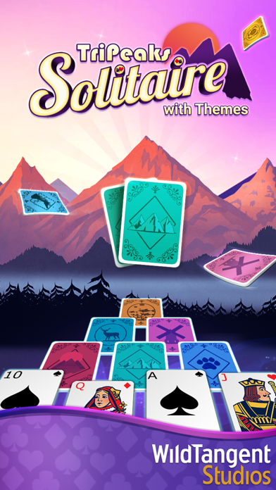 TriPeaks Solitaire with Themes screenshot 5