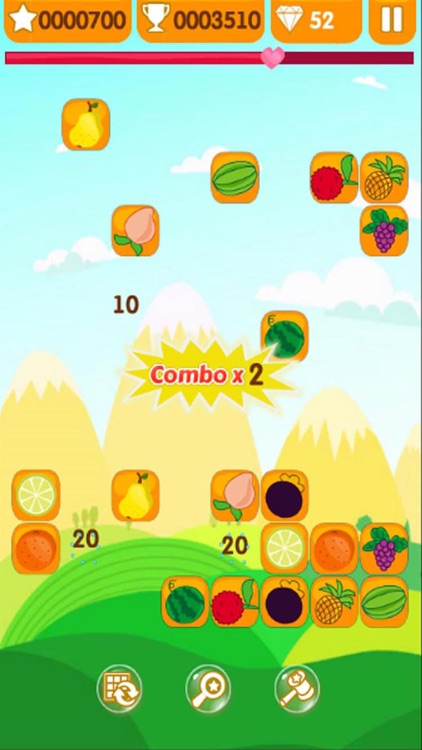 FRUIT Link Link - Connect Two screenshot-3