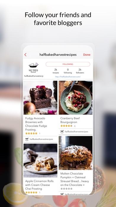 BigOven Recipes & Meal Planner Screenshot