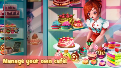 Screenshot of Dessert Chain: Cooking Game App