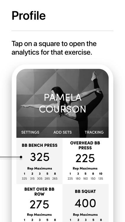 IRON Weight Lifting Tracker screenshot-7