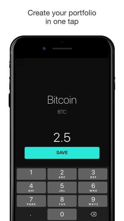 Crypton - Bitcoin Tracker