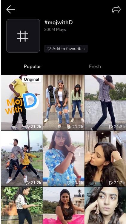 Moj - Short Video App screenshot-5