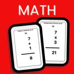 Math Flash Cards Set