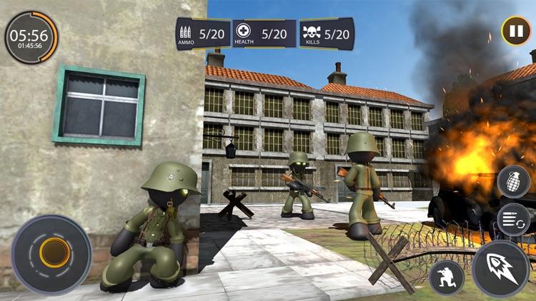 Stickman WW2 Duty - FPS screenshot-3