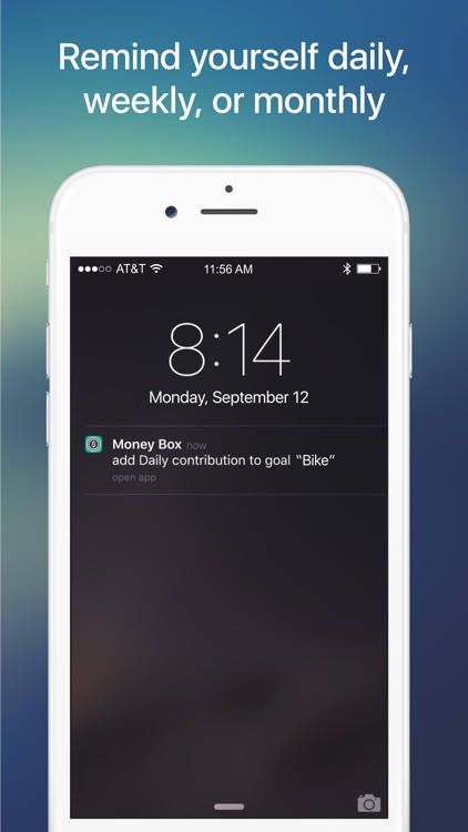 Money Box - Savings Goals App screenshot-4