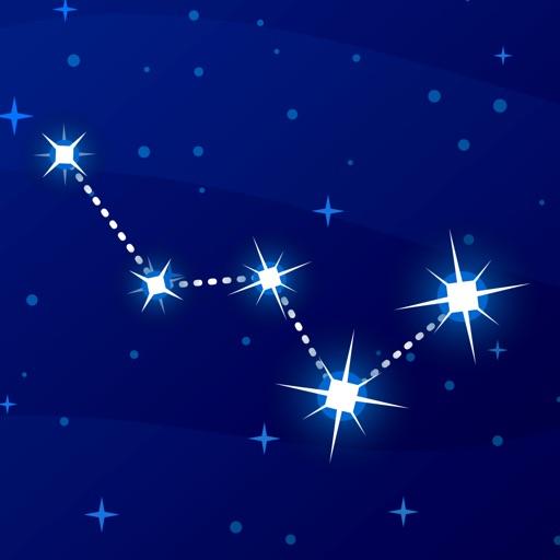 Starry Night Sky Constellation