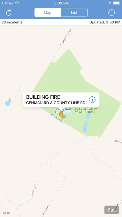 Montgomery County Incidents screenshot-3