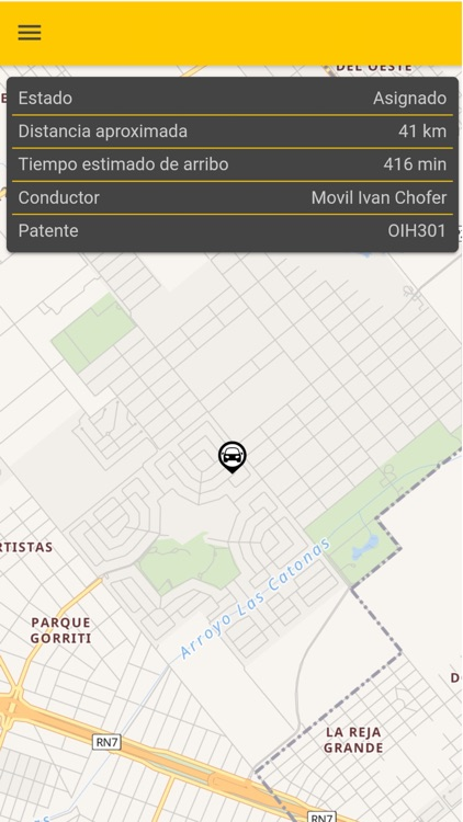 SuTaxi - Taxi Mar del Plata screenshot-4