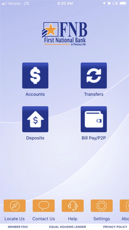 FNB Pville Mobile App