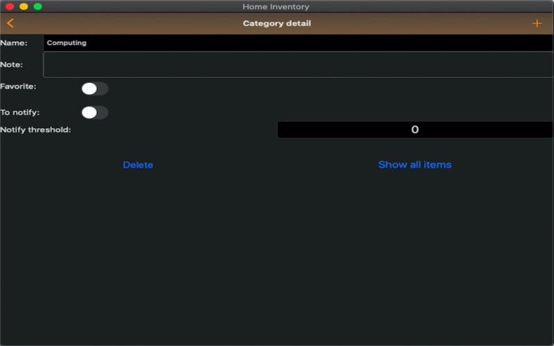 Easy Home Inventory :) скриншот программы 7