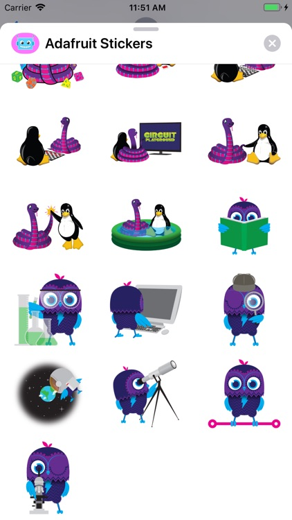 Adafruit Stickers screenshot-4