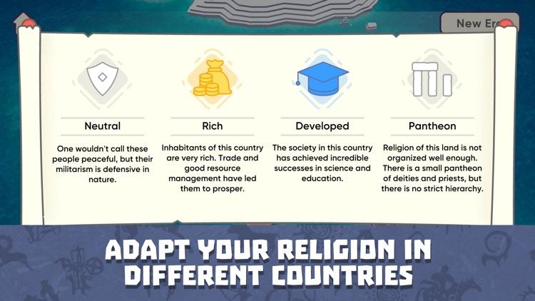 God Simulator. Religion Inc. screenshot-4