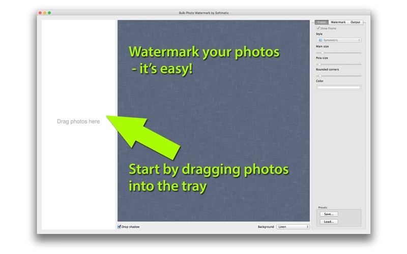 Bulk Photo Watermark