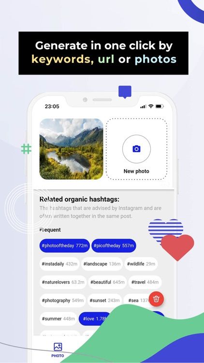 # Hashtag Generator for IG