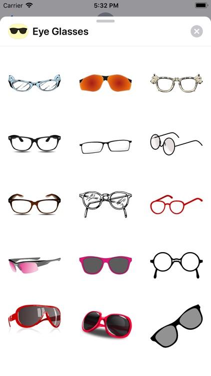 Eye Glass Stickers