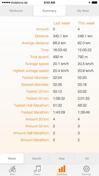 bike.App - GPS for Cycling screenshot four