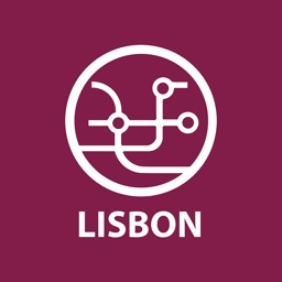 Public transport map Lisbon