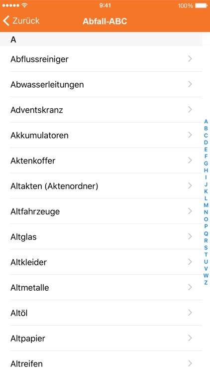 Abfallplaner screenshot-4