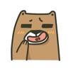 Yu Ge Hu - BearBear-Sticker  artwork