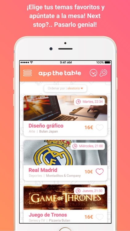 App the Table