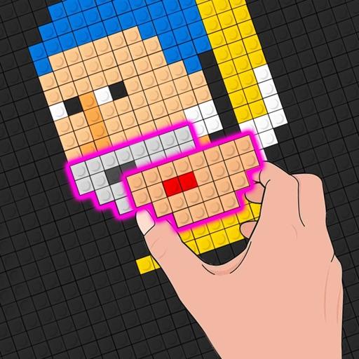 Block Fit Art Puzzle icon