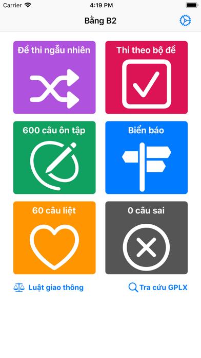 600 - Câu Hỏi Giấy Phép Lái Xe screenshot 3