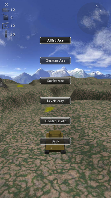 Screenshot from Tank Ace Reloaded