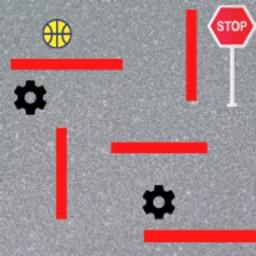 Ball maze game