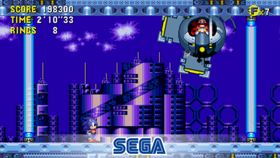 Screenshot from Sonic CD Classic
