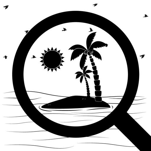 Secret Island : Hidden objects
