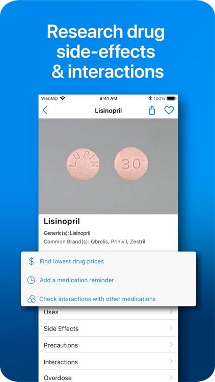 WebMD: Symptoms, Rx, & Doctors screenshot-5