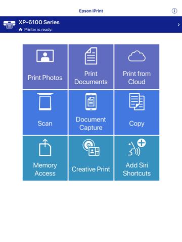 Epson iPrint - náhled
