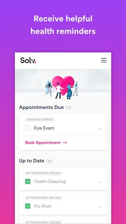 Solv: Convenient healthcare screenshot-5