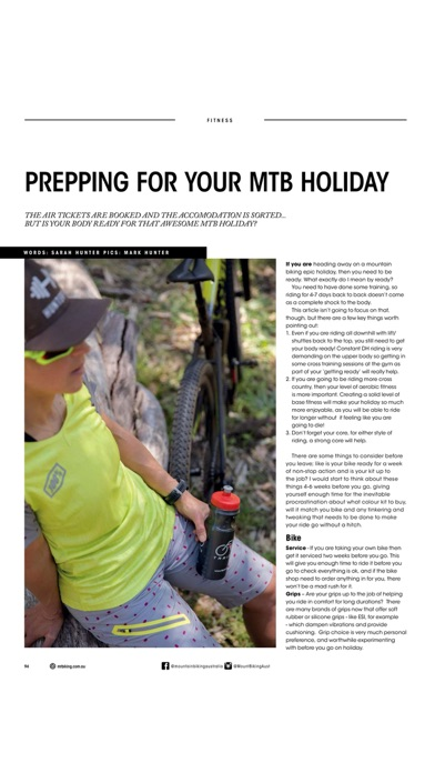 Screenshot for Mountain Biking Australia in Ecuador App Store
