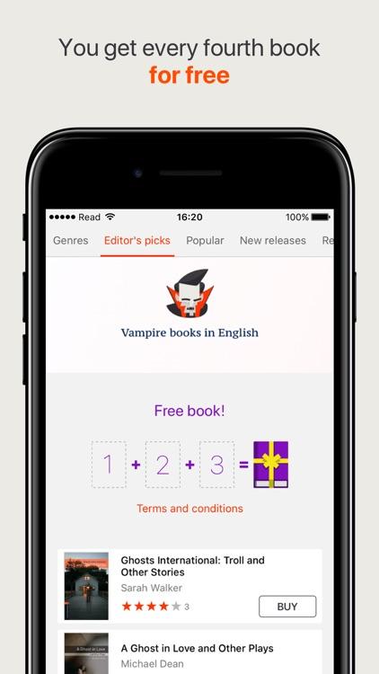 Read the best books online screenshot-3