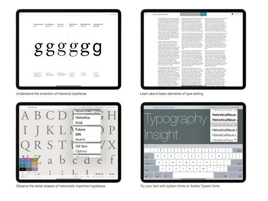Typography Insight - AppRecs
