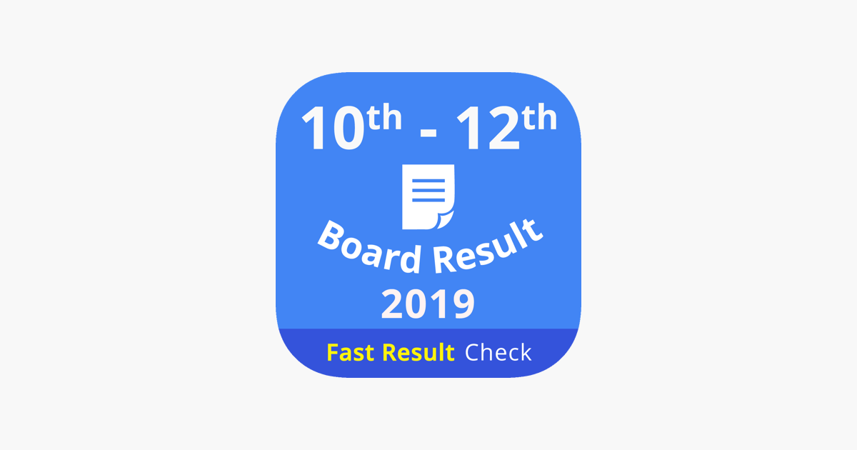 10th 12th Board Result 2019 on the App Store