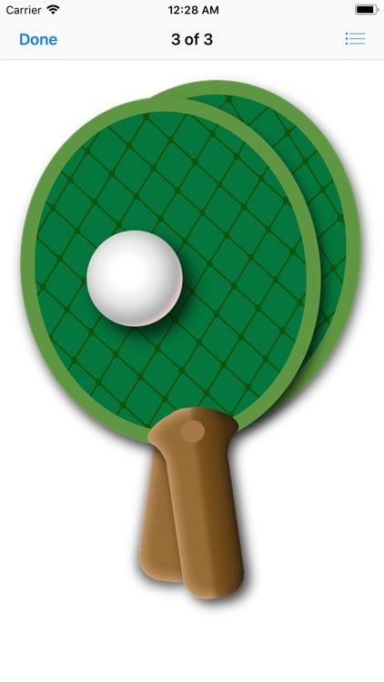 Play Ping Pong Stickers screenshot-9