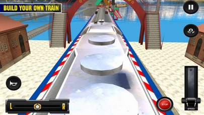 Driving Train On Impossible Tr screenshot 1