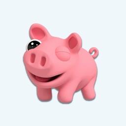 Stickers for Piggy Buddy